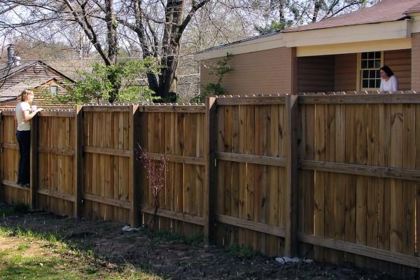 Wood Fence Austin